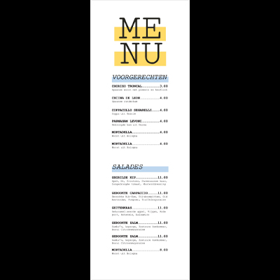 Gratis menu lay-out A4small_Menu_400x400_lay-out