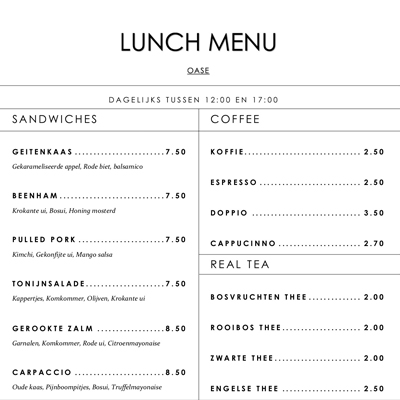 Gratis menu lay-out A4vierkant_Oase_400x400_lay-out