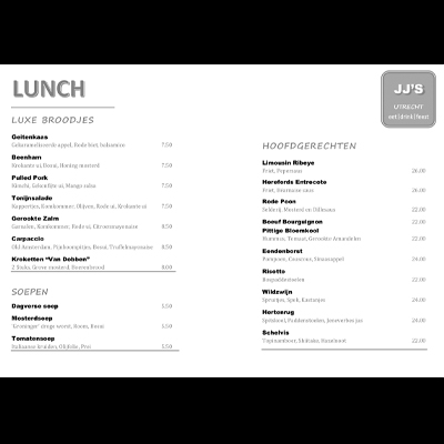 Gratis menu lay-out A5_JJs_400x400_lay-out