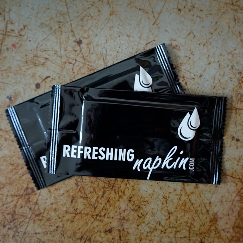 Refreshing Napkin