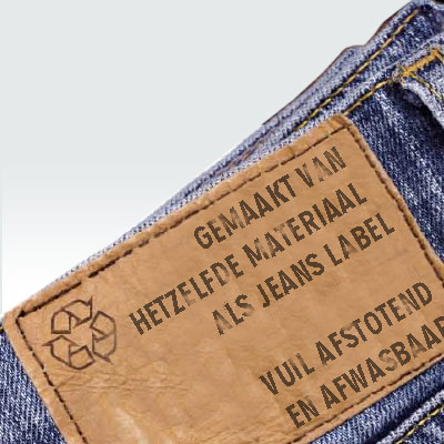 ECO menukaart-cellulose-jeans-label